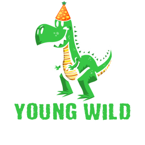 Young wild and three 3. Geburtstag Kleinkind Dino