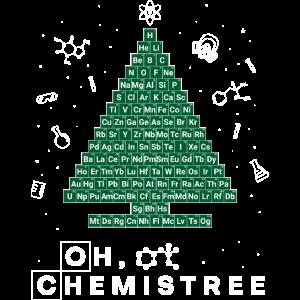 Chemistree Chemie Tannenbaum Weihnachten Chemistry