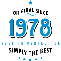 original since 1978 simply the best 40. Geburtstag