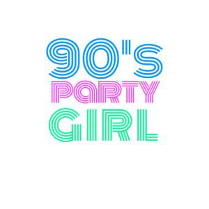 90er Jahre Outfit 90's Party Girl 90s Kostüm