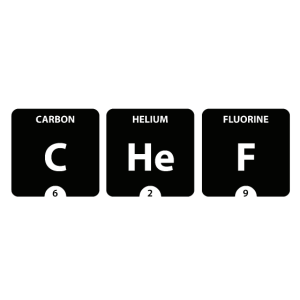 Chef Periodensystem Element Firma Chemiker Labor