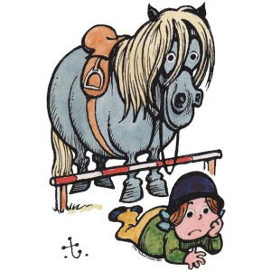 Thelwell Funny Showjumping Gone Wrong
