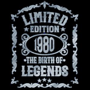 Jahrgang 1980 - Geschenk 40. Geburtstag
