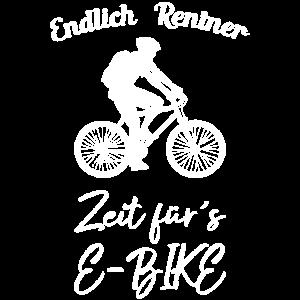 Endlich Rentner Zeit für`s E-Bike Bike Fahrrad