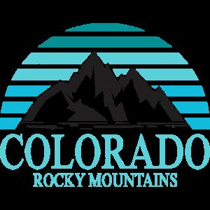 Colorado Rocky Mountains-Grafik