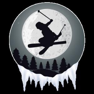 Ski Skiurlaub Mond