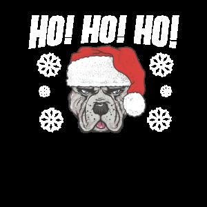 Ho Ho Ho Santa Dog