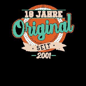 18 Jahre Original seit 2001