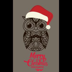 Weihnachtseulen