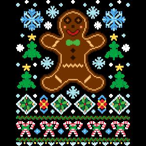 Ugly Christmas Sweater (Lebkuchen)