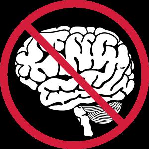 kein Gehirn Gehirn