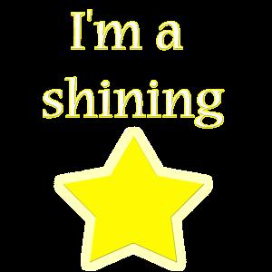 I'm a shining Star, Geschenk, Kinder