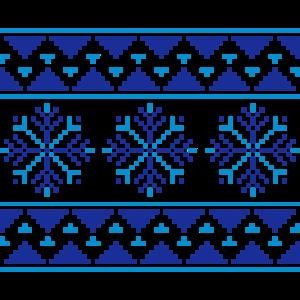 Norweger Muster (Winter) 07.1