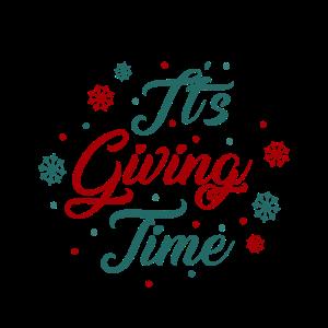 Es ist Zeit zu Geben