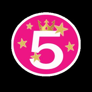 5 Geburtstag