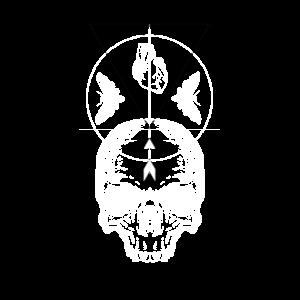 Totenkopf occult streetwear Urban Fashion Tattoo