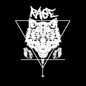 Wolf Rage occult streetwear Urban Fashion Tattoo