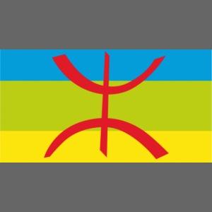 drapeau berbere tamazgha