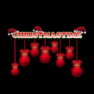 CHRISTMASTIME mit Kugeln