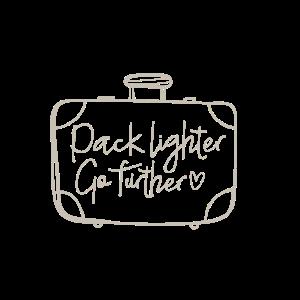 pack lighter go further Geschenk Abenteuer Urlaub