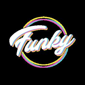Funky Schriftzug