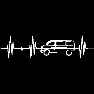bully auto geschenk symbol heartbeat