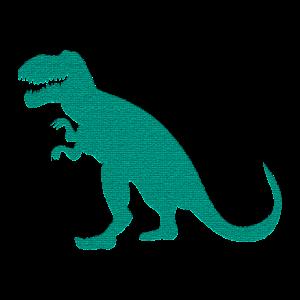 T.Rex Dinosaurier Silhouette Geschenkidee