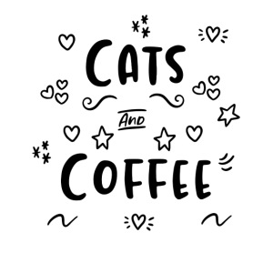 Cats and Coffee Tasse