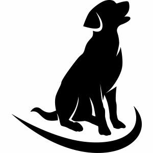 siluetta perro