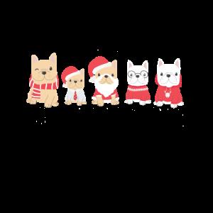 Weihnachts Hunde