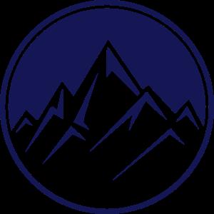mountain icon rocks