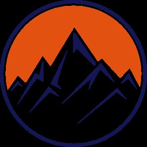 mountain icon design
