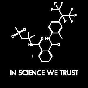 In der Wissenschaft vertrauen wir Shirt Geek Education Laborator
