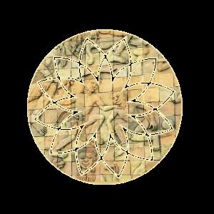 buddhistische steintafel