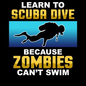 Learn to scuba dive tauchen unterwasser Geschenk