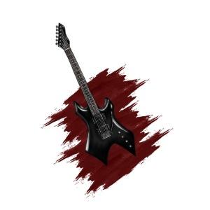 dessin guitare electrique le Boxon
