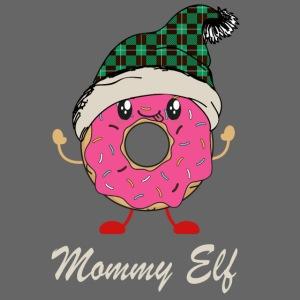 Mommy Elf Donut
