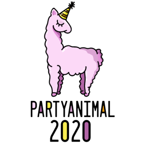 lama party silvester 2020
