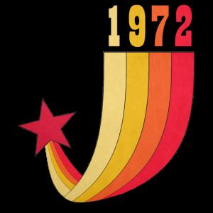 1972 Jahrgang Regenbogen