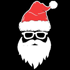 Santa's Cool Face Sankt kühles Gesicht