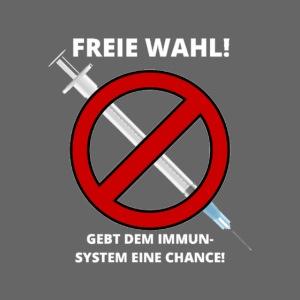 Für eine freie Impf-Entscheidung