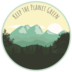 KEEP THE PLANET GREEN