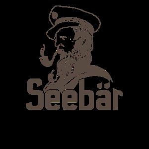 Segeln - Seebär Design für Segler
