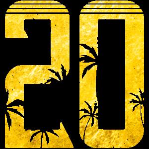 20 palme gold