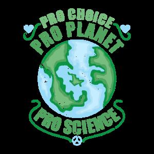 Abtreibung Umweltschutz Wissenschaft Statement