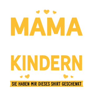 Stolze Mama von 2 wunderbaren Kindern Geschenk