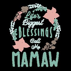 Mamaw T-Shirt Nette Großmutter