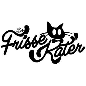 Frisse Kater Logo Zwart-Wit