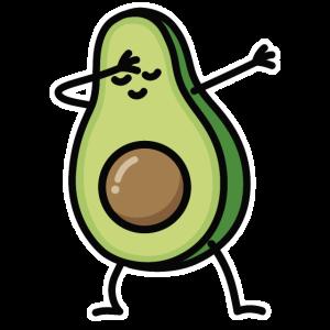 Avocado dab dabbing