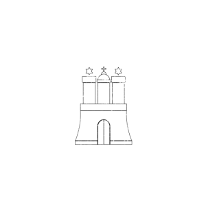 Hamburg Wappen (vintage)